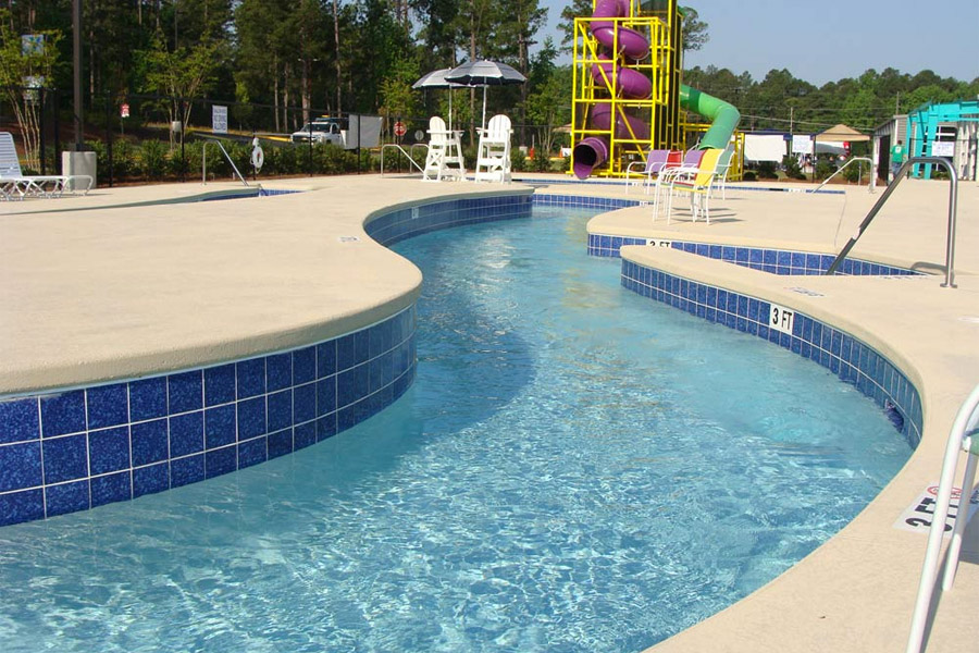 commercial pool in Aiken, SC
