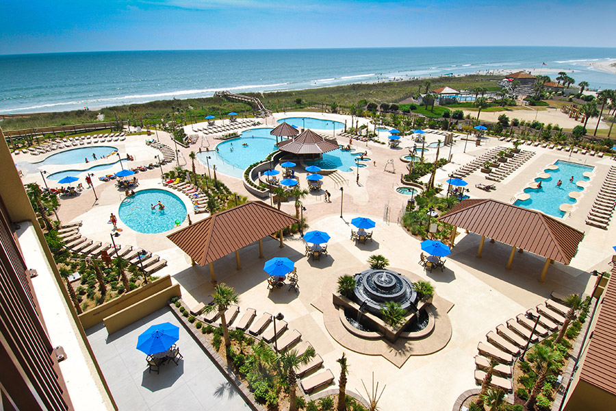 commercial pool project in Myrtle Beach