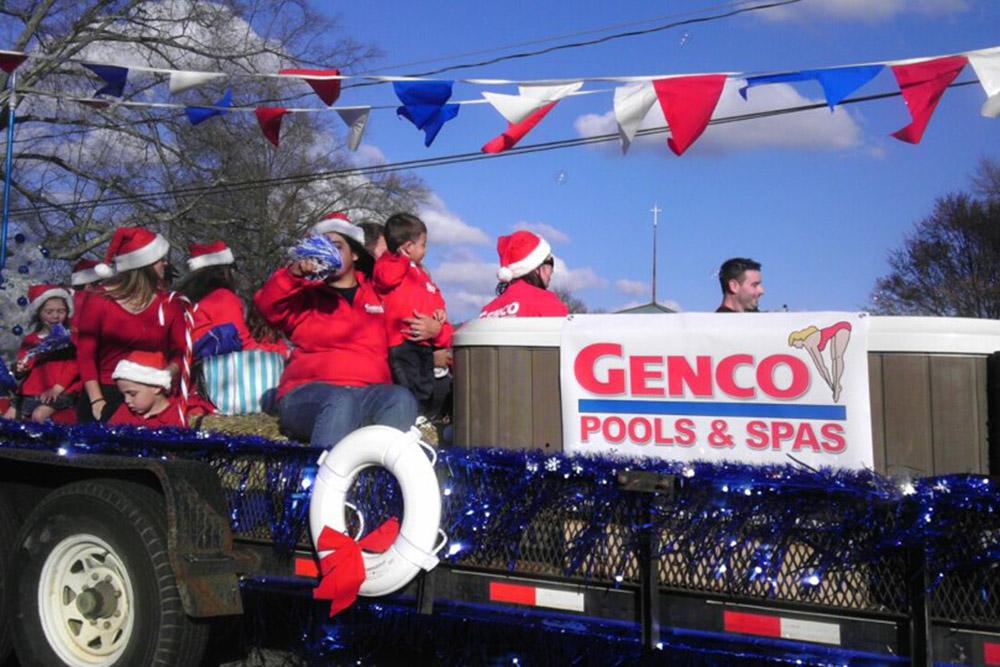 genco parade in the community