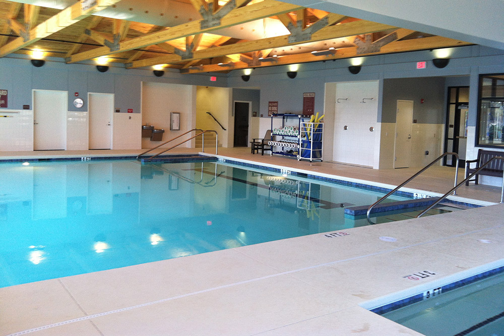 White Oak Estates Indoor Therapy Pool